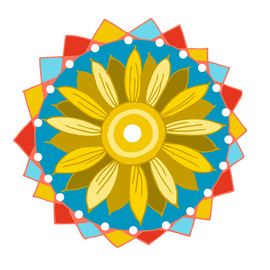 Sunflower Hex