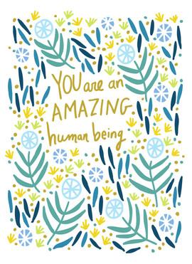 Amazing Human Being