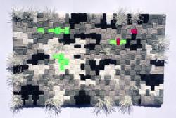 Fuzzy Glitch (B+W) 2, 2015