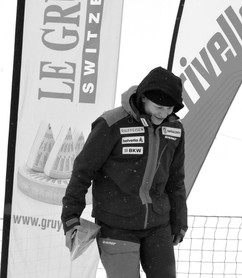 Podium Leysin ski snowboard cross