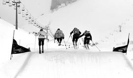 Leysin ski cross course