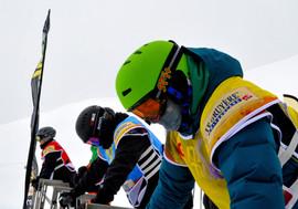 Leysin ski snowboard cross départ