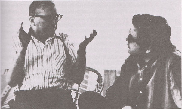 Д. Д. Шостакович и А. П. Петров в ДТК Репино
