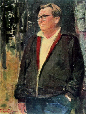 Портрет В. П. Соловьёва-Седого