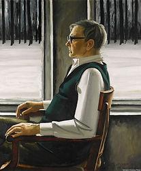 Т. Салахов. Портрет Шостаковича
