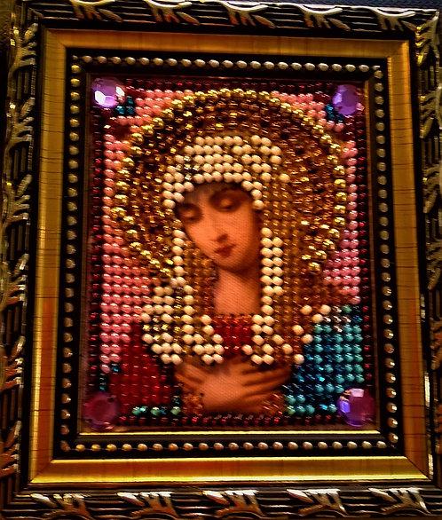 """Алмазная вышивка. Икона """"Богородица Умиление"""""""