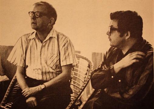 Шостакович и Петров 1965 Репино.jpg