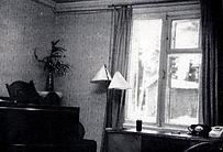 Кабинет Шостаковича в 20 коттедже ДТК Репино