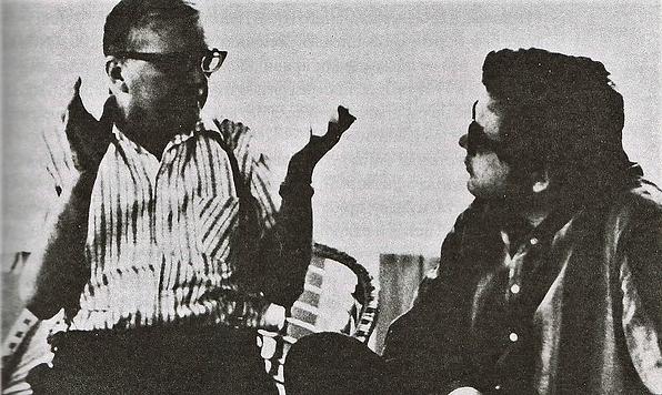 Дмитрий Дмитриевич Шостакович и Андрей Павлович Петров, Репино 1970-е
