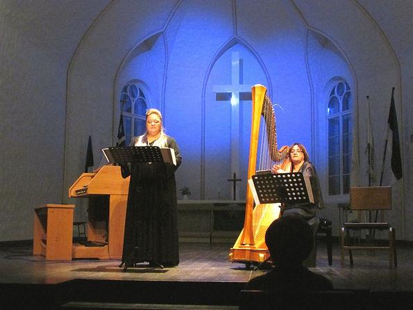 Совместный концерт Зои Журавлёвой и Ирины Донской