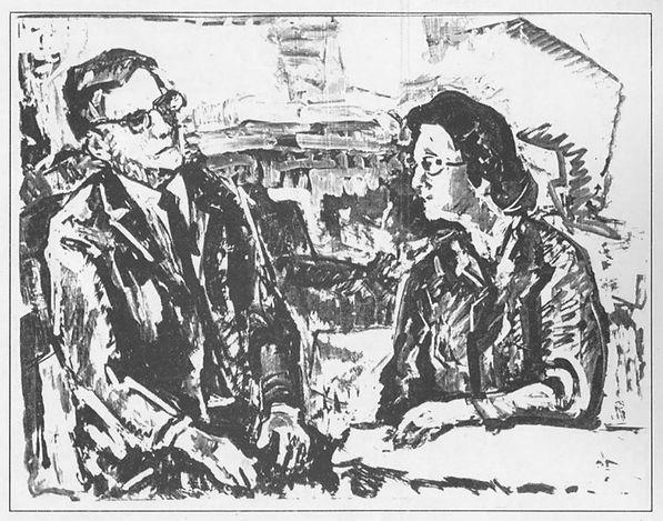С. Гершов. Дмитрий Шостакович и Софья Хентова. Вариант 1.