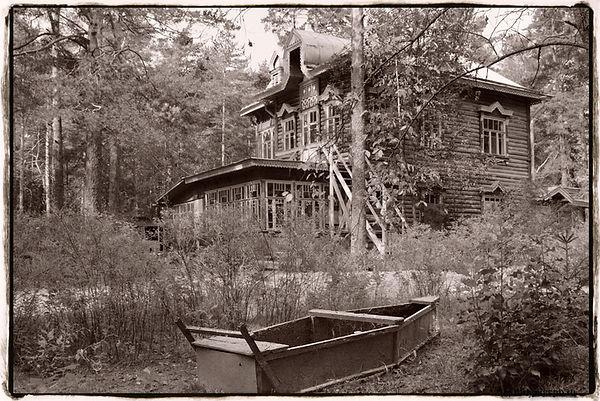 Бывш. дача Куренкова, дача семьи Д Д. Шостаковича в 1947-48 гг. Автор фото: Катя Чилингири