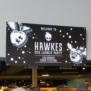 Hawkes USA Launch Columbus Cider Fest