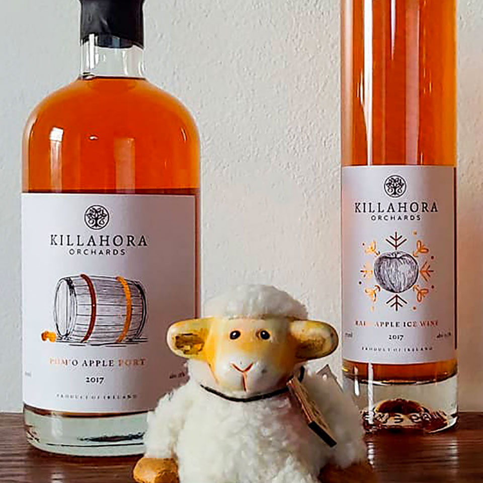 Killahora Rare Apple Ice Wine and Pom'O