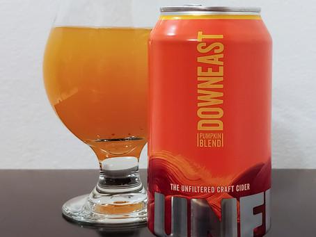 Cider Review: Downeast Pumpkin Blend