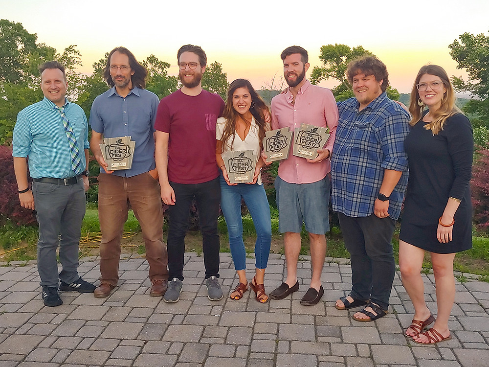 PA Cider Fest Award Recipients