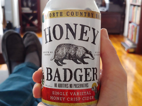 Cider Review: North Country Honey Badger