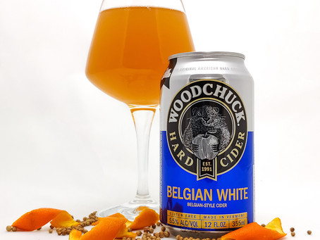 Cider Review: Woodchuck Belgian White