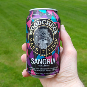 Cider Review: Woodchuck Sangria