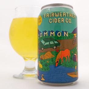 Cider Review: Fairweather Common