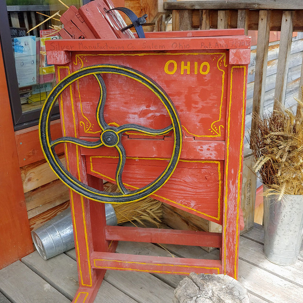 Old fruit mill called Ohio
