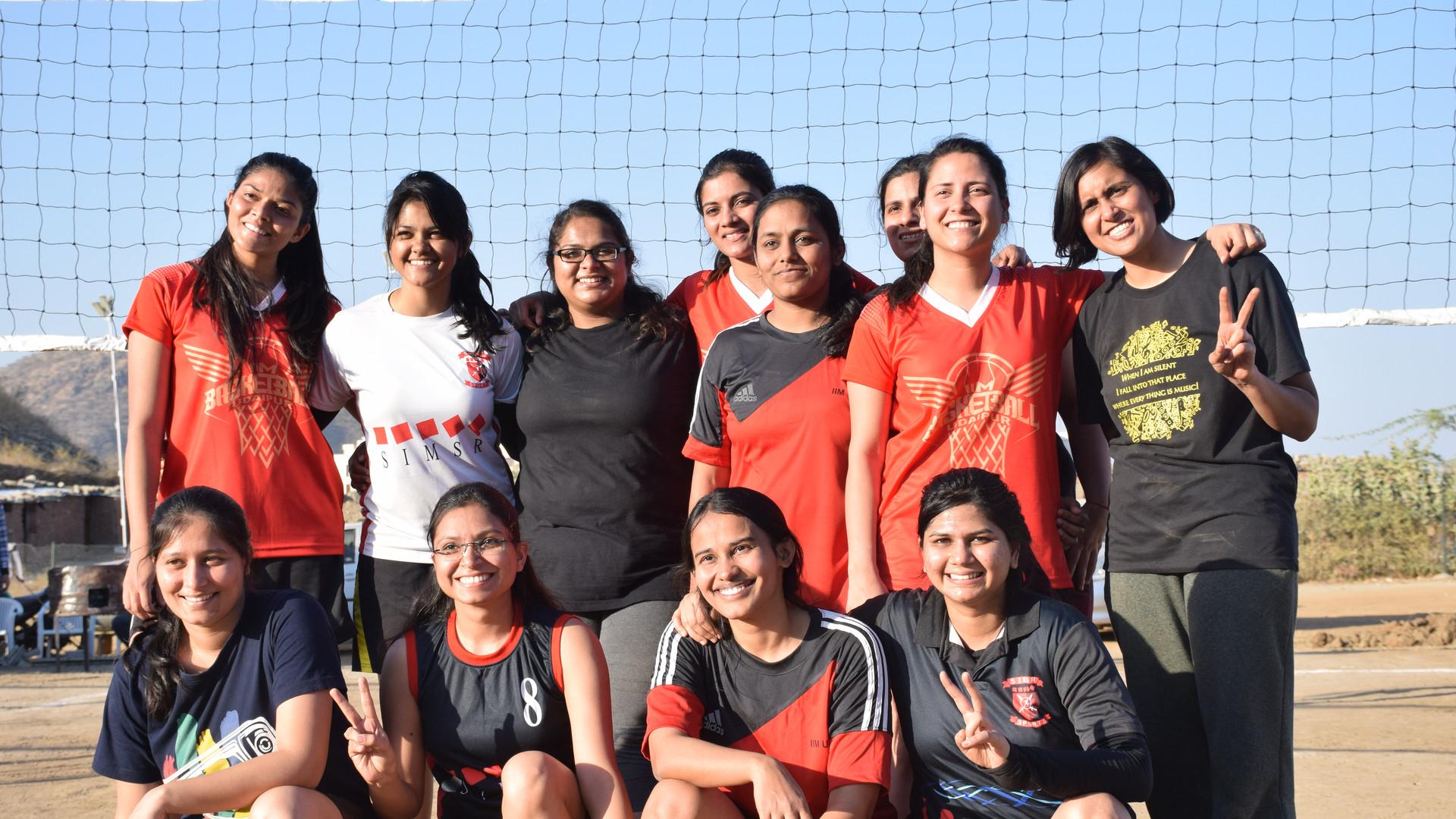 IIMU_UDAIPUR_Handball_girlsteam