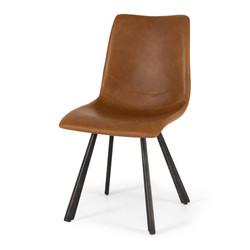 SAL - Rustic Chair Vintage Cognac PU