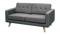 FC - Karina Sofa 2 Seater - Dark Grey