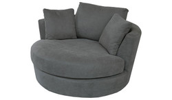 FC - Tempo Chair - Swivel (Charcoal)