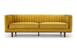 SAL - Madison 3 Seater Golden Velvet