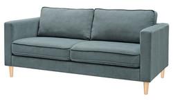 FC - Romano Sofa 3 Seater - Denim (Light legs)