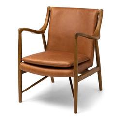 SAL - Finn Armchair Cognac Leather