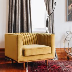 SAL - Madison Armchair Golden Velvet