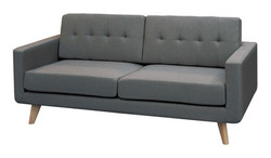 FC - Karina Sofa 3 Seater - Dark Grey