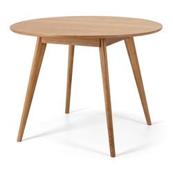 SAL - Radius 1m rd Dining Table (Oak Top)