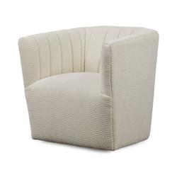 SAL - Swivel Chair in Milk