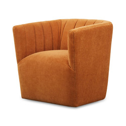 SAL - Swivel Chair in Ginger