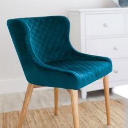 SAL - Paris Dining Chair DAINTREE Velvet