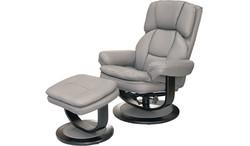 FC - Atlas Chair & Stool - Grey PU