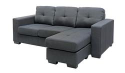 FC - Jericho Chaise - Charcoal