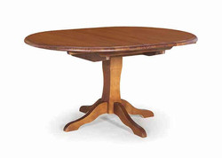 CW - NZ MADE - Villager Round Extension Table