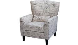 FC - Monique Chair - Newspaper