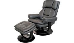FC - Atlas Chair & Stool - Black PU