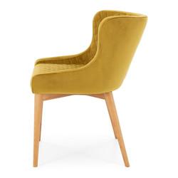 SAL - Paris Dining Chair GOLDEN Velvet
