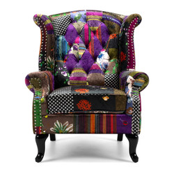 SAL - Patchwork Wingback