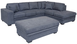 FC - Merrivale Sofabed Chaise - Right (New Fabric)