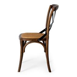 SAL - Villa X-Back Chair Deep Oak Rattan Seat