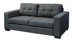 FC - Jericho Sofa - 3 Seater Charcoal