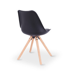 SAL - Orbit Dining Chair BLACK