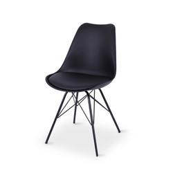 SAL - Rake Dining Chair BLACK